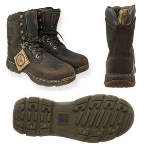 DR. MARTENS Scotswood Insulated Boots Brown/Olive
